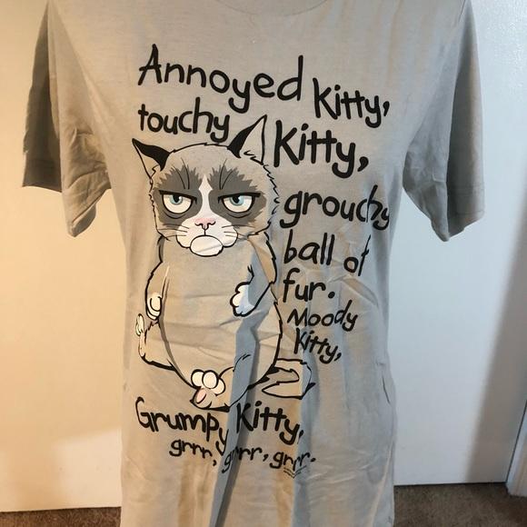 07d299e92 canvas Tops | Grumpy Kitty Big Bang Tshirt Size Medium | Poshmark